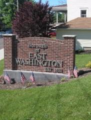 East Washington Signage